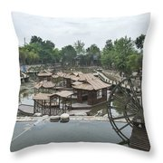 4359- Water Wheel Throw Pillow