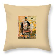43770 Boris Kustodiev Throw Pillow