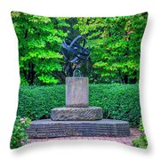 4387- Sculpture Throw Pillow