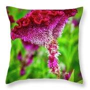 4390- Flower Throw Pillow
