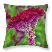 4393- Flower Throw Pillow