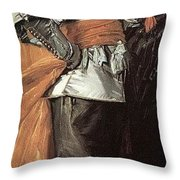 43meagr3 Frans Hals Throw Pillow