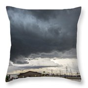 7th Storm Chase 2015 Throw Pillow