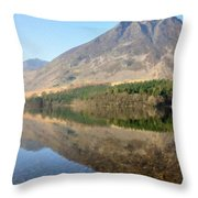 Landscape Painting Art Throw Pillow