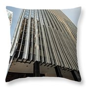 44 Montgomery Building In San Francisco, California Throw Pillow