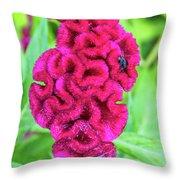 4408- Flower Throw Pillow