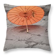 4440- Umbrella Throw Pillow