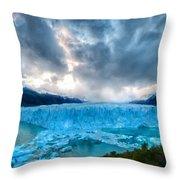 C E Landscape Throw Pillow