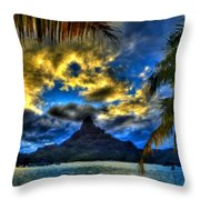 Landscape Light Throw Pillow