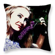 Model Throw Pillow