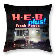 #4570_heb_0 Throw Pillow