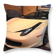 458 Italia Throw Pillow