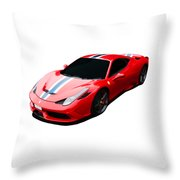 458 Speciale Throw Pillow