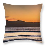 Dawn Seascape Throw Pillow