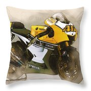 46  Rossi Throw Pillow