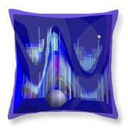460 - City Of Future 1 ...  Throw Pillow