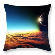 C R Landscape Throw Pillow