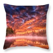 Landscape Acrylic Throw Pillow