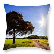 Nature Art Throw Pillow