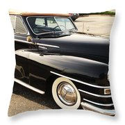 47 Packard Throw Pillow