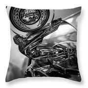 47 Triumph Roadster Throw Pillow