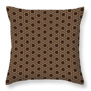 Arabesque 077 Throw Pillow