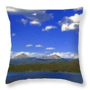 Landscape Oil Painting Throw Pillow