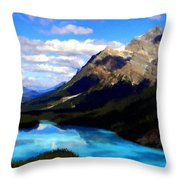 Nc Landscape Throw Pillow