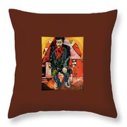 4dpictdfy Marc Chagall Throw Pillow