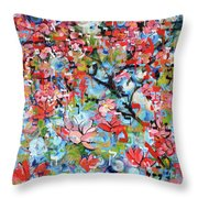 3rd Day Of Creation 201808 Throw Pillow
