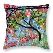 3rd Day Of Creation 201809 Throw Pillow