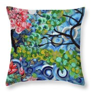 4th Day Of Creation 201812 Throw Pillow
