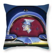 1953 Mercury Monterey Emblem Throw Pillow