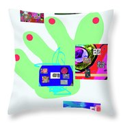 5-5-2015babcdefghijklmnopqrtuvwxyzabcdefghijk Throw Pillow