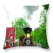 A President's Funeral Train - 3435 Throw Pillow