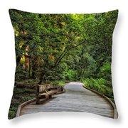 A Summer Place Throw Pillow