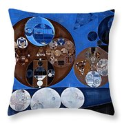 Abstract Painting - Ghost Throw Pillow