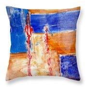 Abstrait   Throw Pillow