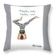 Ad Fashion Throw Pillow