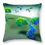 Antibody 1igt Throw Pillow