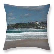 Australia - Bondi Beach Southern End Throw Pillow
