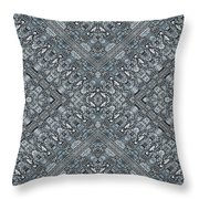 Aztec Navajo Pattern Background Throw Pillow