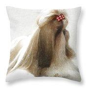 Beautiful Dog Throw Pillow