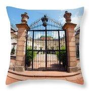 Buchlovice Castle Throw Pillow