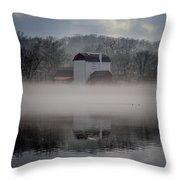Bucks County Playhouse Throw Pillow