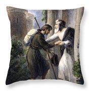 Bunyan: Pilgrims Progress Throw Pillow