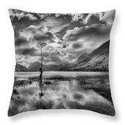 Buttermere Tree Throw Pillow