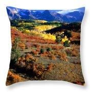 C S Landscape Throw Pillow