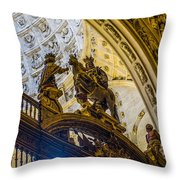 Cathedral Of Seville - Seville Spain Throw Pillow