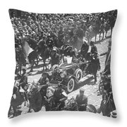 Charles A. Lindbergh Throw Pillow